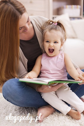 Huge joy from listen like mother reading book