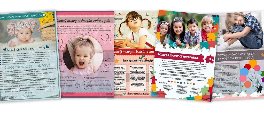 Plakaty Edukacyjne Z Serii Rozwój Mowy Ulogopedypl